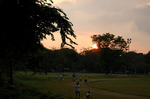 Sunset at UP